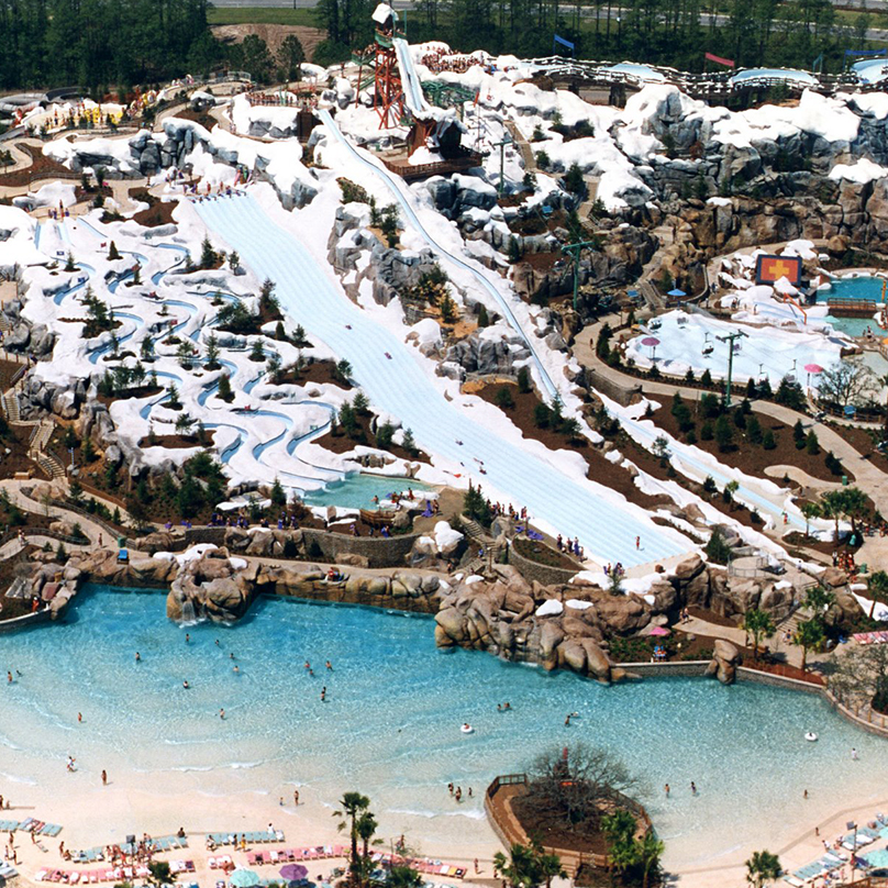 Disney S Blizzard Beach Water Park Is A Place Filled With Frosty Fun For The Entire Family It Ski Resort That Melting Has On Every Slope